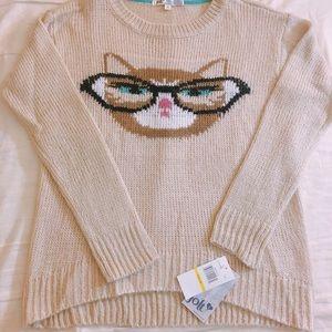 Jolt knit cat sweater